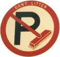 street cleaning sign